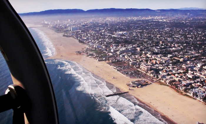 Encore Flight - Van Nuys: Introductory Flight Package or Single Hands-On Flight Lesson at Encore Flight in Van Nuys (Up to 72% Off)