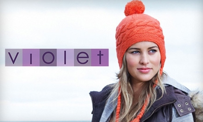 Violet - LoDo: $20 for $40 of Up-and-Coming Designer Apparel and Accessories at Violet