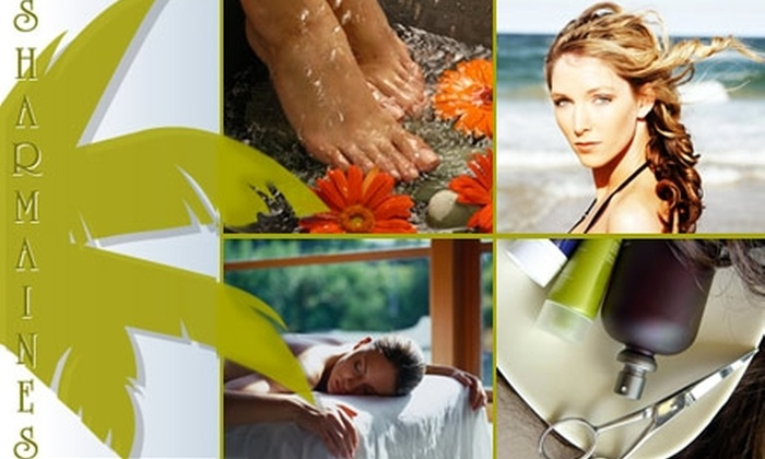 Sharmaines Salon and Day Spa - Clearwater: $45 for a Salon and Spa Package at Sharmaine's Salon and Day Spa ($126 Value)