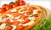 Smiths pizza & subs - closed - Southwest Rancho Cucamonga: Medium or Extra-Large Pizza Meal with Garlic Bread and Salad at Smith's Pizza & Subs in Rancho Cucamonga (Up to 53% Off)