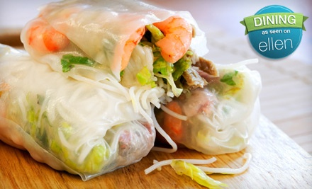 $25 Groupon to Siam Cuisine - Siam Cuisine in Anchorage
