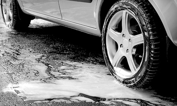 Premier Car Wash - Multiple Locations: $16 for a Car-Wash Package at Premier Car Wash (Up to $35.95 Value). Two Locations Available.