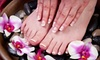 Rejuve Nail  Skin & Day Spa - Philadelphia: French Mani-Pedi, or Spa Mani with Options for Hot Stone Pedi or Spa Mani with Facial and Massage at Rejuve Nail & Skin Day Spa (Up to 54% Off)