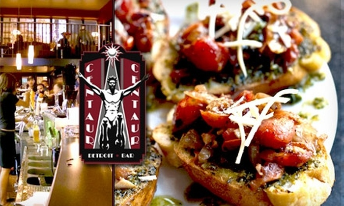 Centaur - Downtown: $15 for $30 Worth of Martinis and Classy Small Plates at Centaur