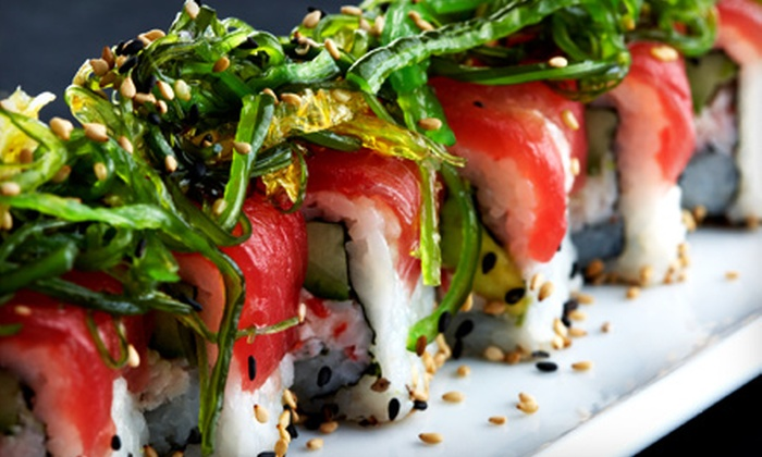 Fuji Sushi - Multiple Locations: $12 for $25 Worth of Japanese Fare and Drinks at Fuji Sushi