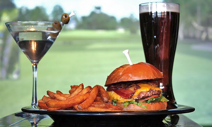Swingers Sports Lounge and Grill - Lone Tree: Golf Simulator Session and $20 Worth of Food and Beverage, or $15 for $30 Worth of Food and Beverage