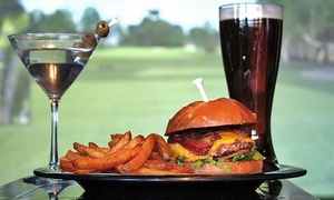 Swingers Sports Lounge and Grill: $49 for Two Hours of Golf Simulator & $20 Worth of Food at Swingers Sports Lounge and Grill ($80 Value)