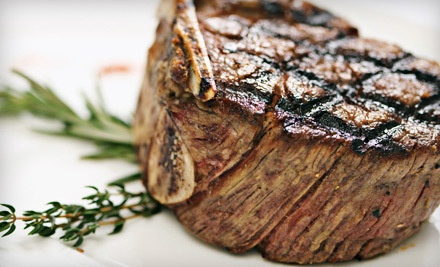 $30 Worth of Steak-House Fare - Garlic & Shots in Tempe