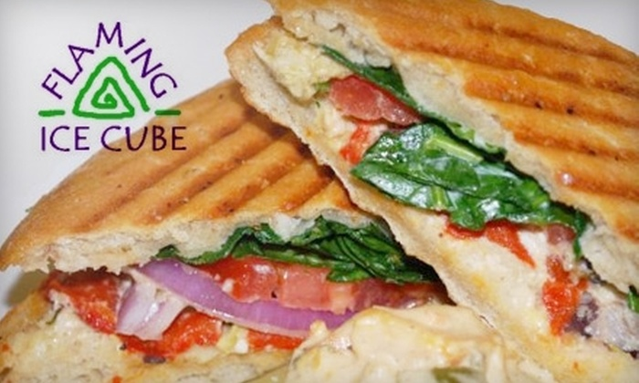 The Flaming Ice Cube - Downtown: $7 for $15 Worth of Homemade Treats and More at The Flaming Ice Cube