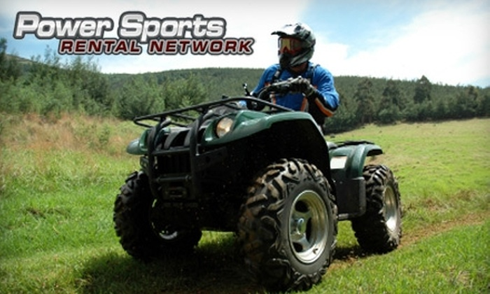 Power Sports Rental Network - Grand Chute: $90 for a One-Day ATV Rental from Power Sports Rental Network ($175 Value)