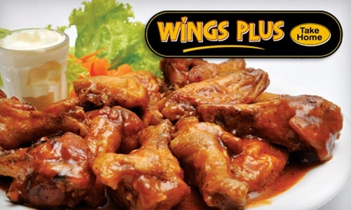 Wings Plus - Port Washington: $10 for $20 Worth of American Fare, BBQ, Sandwiches, Hot Wings, and More at Wings Plus