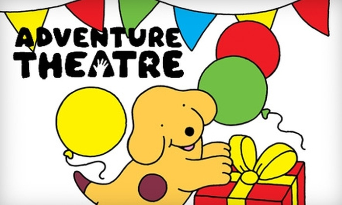 "Adventure Theatre - Glen Echo: $7 Ticket to ""Spot's Birthday Party"" at Adventure Theatre ($15 Value). Choose from Four Performances."