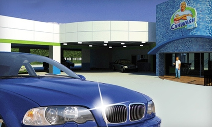 Mr. Clean Car Wash - Austin: $24 for a Signature Shine Car Wash and a Shine Machine Polishing at Mr. Clean Car Wash in Round Rock ($48 Value)