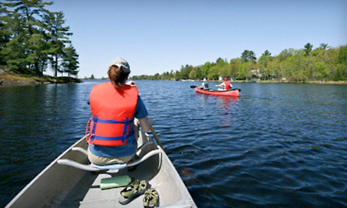 Twin Rivers Canoe Rentals - Eureka: $30 for Canoe Rental for Up to Three People at Twin Rivers Canoe Rentals in Eureka (Up to $60 Value)