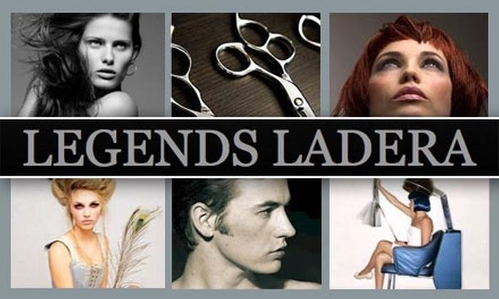 Up To 64 Off At Legends Ladera Salon Legends Ladera Salon Groupon