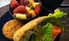 fit 2 eat - Madison: $8 for Dinner and Dessert for Two at Fit 2 Eat (Up to $17 Value)