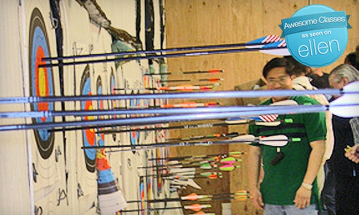 Pacifica Archery - Original Daly City: $35 for Archery Lessons and Equipment Rental for Up to Two at Pacifica Archery in Daly City ($70 Value)