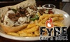 (CLOSED) Fyre Bar & Grill - Gainesville: $7 for $15 Worth of American Fare at Fyre Bar & Grill