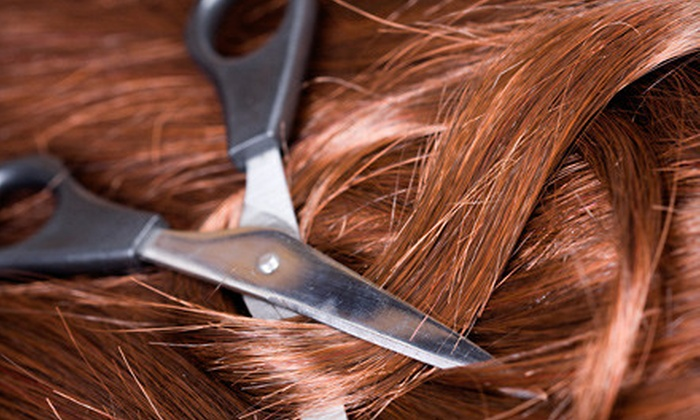 Mauro Tollis Salon Hair Colour Group - Montclair Heights: Express- or Brazilian-Keratin Packages at Mauro Tollis Salon Hair Colour Group in Woodland Park (Up to 66% Off).