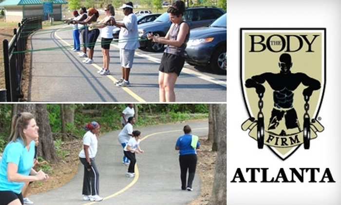 The Body Firm Atlanta - Multiple Locations: $45 for One Month of Unlimited Boot Camp at The Body Firm Atlanta ($200 Value)
