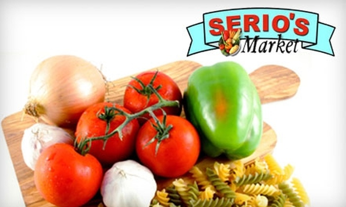 Serio's Market - Northampton: $10 for $20 Worth of Groceries from Serio's Market