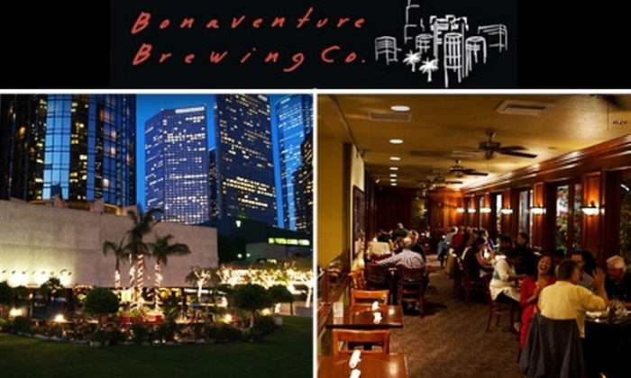 Bonaventure Brewing Co. - Downtown Los Angeles: $15 for $35 Worth of Food and Drink at Bonaventure Brewing Co.