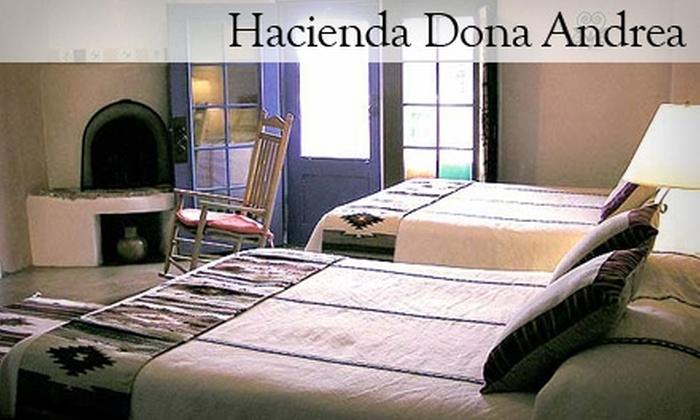 Hacienda Dona Andrea - Santa Fe South: $99 for a One-Night Stay at Hacienda Doña Andrea de Santa Fe (Up To A $249 value)