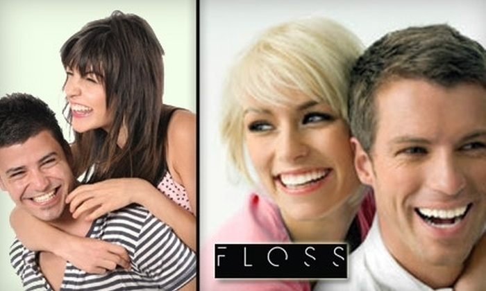 Floss Dental Houston - Multiple Locations: $99 for a Customized Bleaching Tray or Zoom2! Teeth Whitening at Floss Dental ($350 Value)