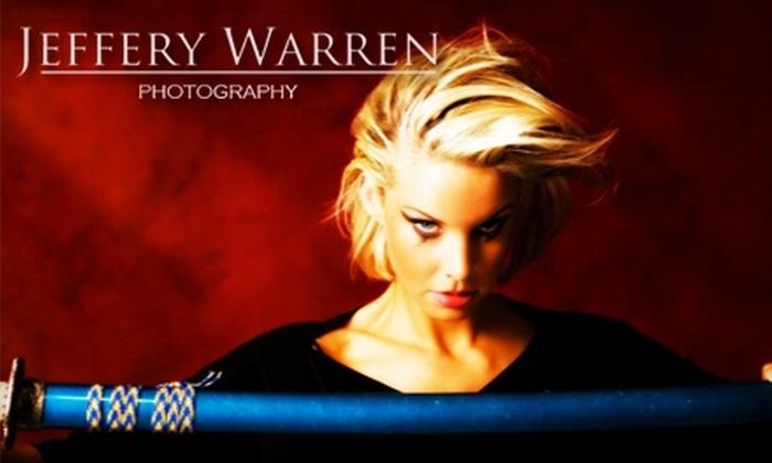Jeffery Warren Photography - Alviso: $75 for a Portrait Photo Session ($575 Value) or $99 for a Boudoir Photo Session ($625 Value) from Jeffery Warren Photography
