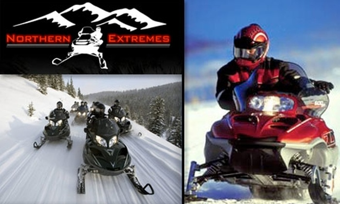 Northern Extremes Snowmobile Rentals - Boston: $75 for a Two-Hour Guided Snowmobile Tour from Northern Extremes ($95 Value)