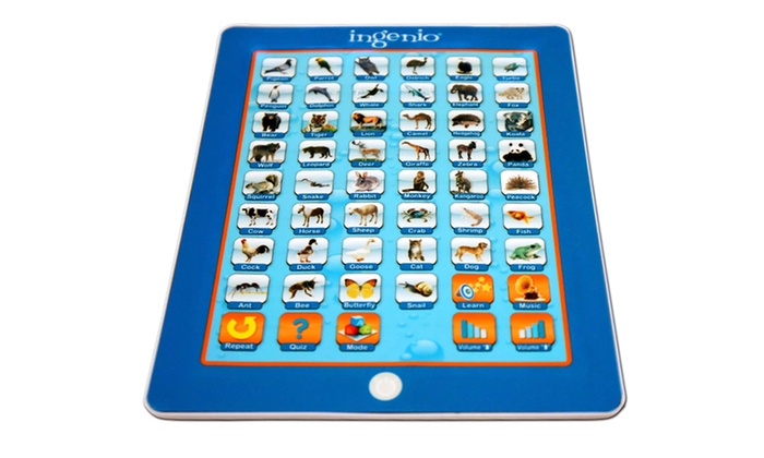Smart Play All About Animals Interactive Electronic Learning Pad