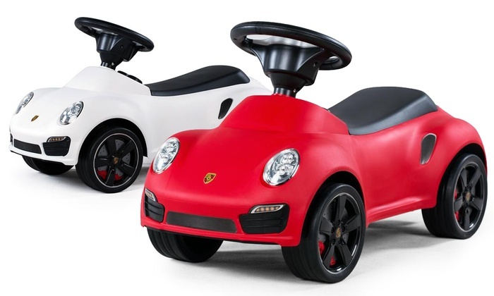 Porsche 911 Kids Turbo Push Car