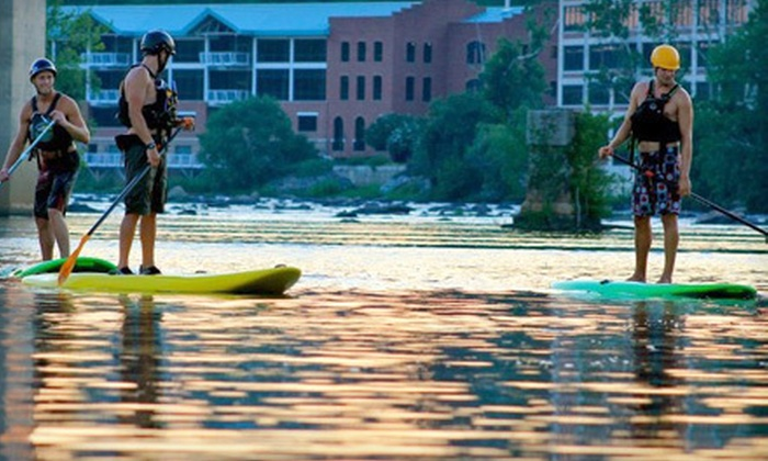 Riverside Outfitters - Richmond: Paddleboarding Trip for One or Paddleboarding Trip for Two with Optional Lunch from Riverside Outfitters (Up to 51% Off)