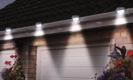 2 o 4 luci LED solari da grondaia disponibili in 2 colori