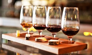 The Toasted Cork: Wine Flight and Bruschetta Board for Two or Four at The Toasted Cork (Up to 47% Off)