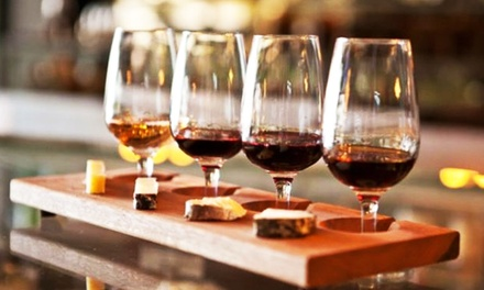 Wine Flight And Bruschetta Board The Toasted Cork Groupon