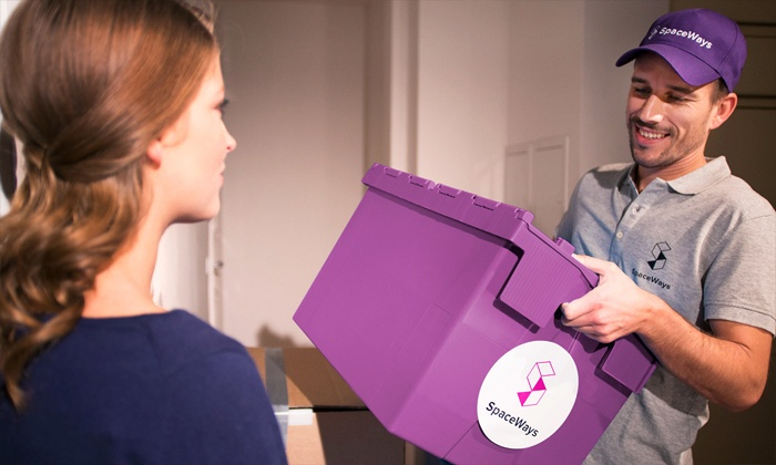 SpaceWays: $19 for Three Months of Storage with Three Boxes, Pickup, and Return Delivery from SpaceWays ($72 Value)