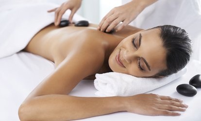 image for Hot Stone Massage at Naked Hair and Beauty (54% Off)
