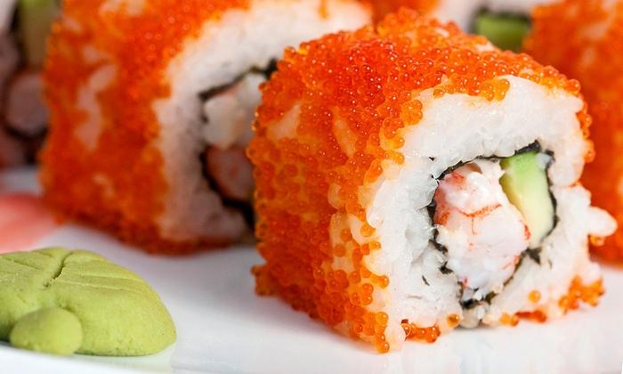 Fin Sushi & Sake Bar - Plano: Sushi and Japanese Cuisine at Fin Sushi & Sake Bar (40% Off). Two Options Available.