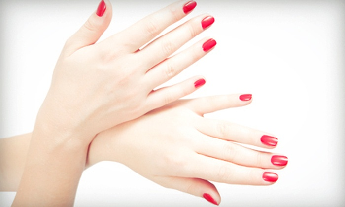 Himal, Nails & Spa - Williamsburg: One or Three Mani-Pedis or One or Three Gel Manicures with Regular Pedicures at Himal, Nails & Spa (Up to 56% Off)