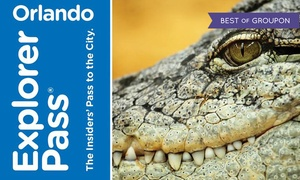 Smart Destinations: Go Orlando Card Multi–Attraction Pass with Admission to 3 or 5 Attractions from Choice of Many Options