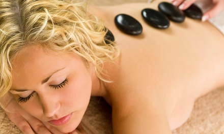 Hot Stone Treatment or infrared Light Therapy and Massage at Sea Grass Therapies (63% Off)