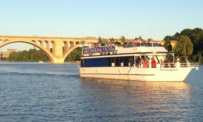 Boomerang Tours, Inc. - Boomerang Boat Tours: One-Hour Cherry Blossom Cruise for Two or Four from Boomerang Tours, Inc. (Up to 51% Off)