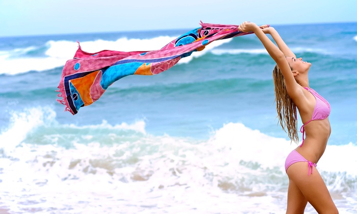 Cancun Tan - Multiple Locations: One, Three, or Six Formostar Infrared Body Wraps at Cancun Tan (Up to 84% Off)