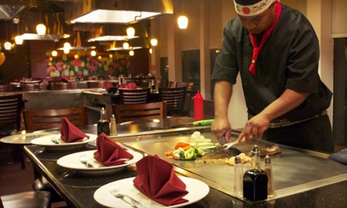 O Sushi & Grill - Tukwila: Teppanyaki Dinner for Two or $12 for $25 Worth of Japanese-Steakhouse Fare at O Sushi & Grill in Tukwila