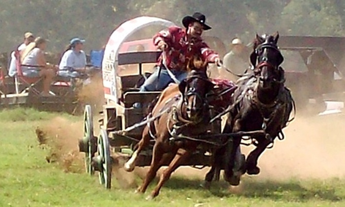 Twin Elm Guest Ranch - Bandera: $5 for a One-Day Ticket to the Bandera Chuckwagon Races at Twin Elm Guest Ranch ($10 Value)