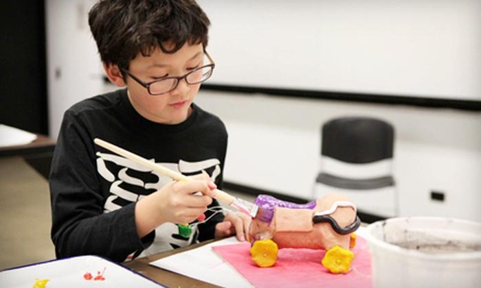 Art Center for Kids - Multiple Locations: $130 for Seven Weeks of Children's Art & Design Classes at Art Center for Kids in Pasadena ($260 Value)