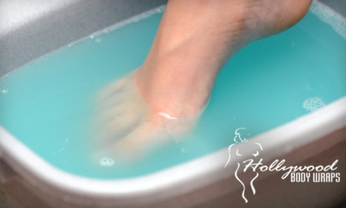 Hollywood Body Wraps - Multiple Locations: $39 for Two Ionic Foot Detox Sessions at Hollywood Body Wraps ($98 Value). Choose from Three Locations.