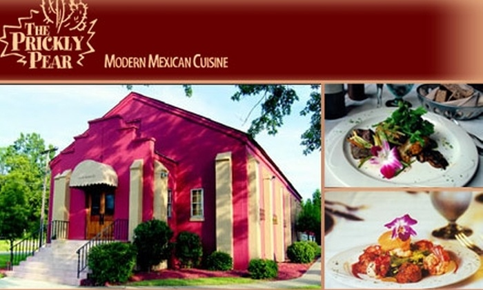 The Prickly Pear  - Mooresville: $20 for $50 Worth of Mexican Cuisine from The Prickly Pear