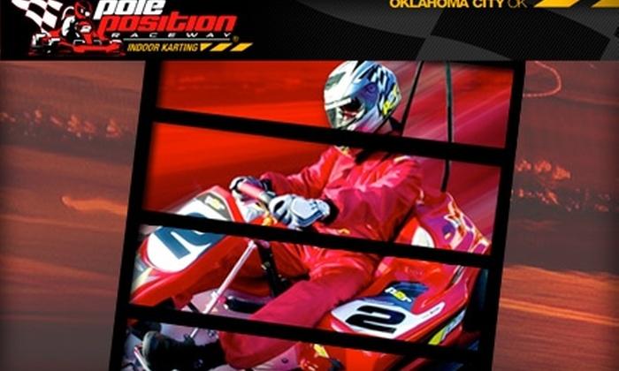 Pole Position Raceway - Central Oklahoma City: $29 for Three Indoor Kart Races at Pole Position Raceway
